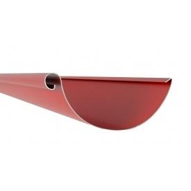 Жолоб Акведук Преміум 125 мм 4 м темно-червоний RAL 3009