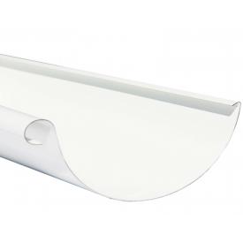 Жолоб Акведук Стандарт 125 мм 2 м білий RAL 9003