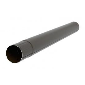 Труба Акведук Преміум 87 мм 3 м темно-коричневий RAL 8019
