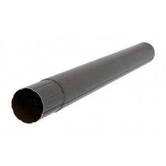 Труба Aкведук Премиум 87 мм 3 м темно-коричневый RAL 8019