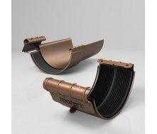 Хомут ринви BJ Roofart Scandic Copper 125 мм мідний