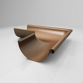 Внутренний угол KI Roofart Scandic Copper 150 мм 135 градусов медный