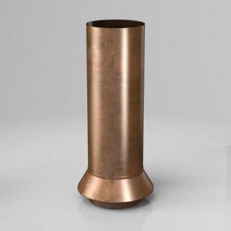 Дренажный соединитель RC Roofart Scandic Copper 100 мм медный