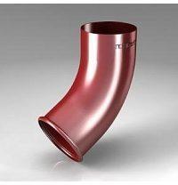 Колено CB Roofart Scandic Prelaq 87 мм 60 градусов красный RAL3011