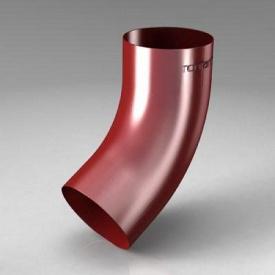 Зливне коліно CE Roofart Scandic Prelaq 87 мм 60 градусів червоний RAL3011