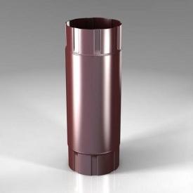 Проміжна труба PB Roofart Scandic Prelaq 100 мм 1 м цегляний RAL3009