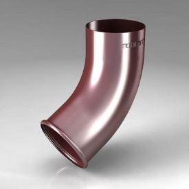 Зливне коліно CE Roofart Scandic Prelaq 87 мм 60 градусів цегляний RAL3009