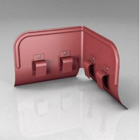 Переливозатримувач PP Roofart Scandic Prelaq 125/87 90 градусів цегляний RAL3009