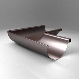 Внутрішній кут KI Roofart Scandic Prelaq 125 мм 135 градусів коричневий RAL8017
