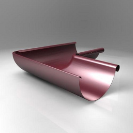 Внутрішній кут KI Roofart Scandic Prelaq 125 мм 135 градусів вишневий RAL3005