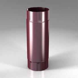 Проміжна труба PB Roofart Scandic Prelaq 87 мм 1 м вишневий RAL3005