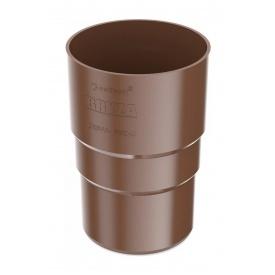 Муфта труби Bryza 75 63,3х117х57,5 мм коричневий