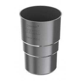 Муфта труби Bryza 75 63,3х117х57,5 мм графіт
