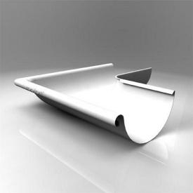 Зовнішній кут KE Roofart Scandic Prelaq 125 мм 135 градусів білий RAL9010