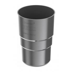 Муфта труби Bryza 100 90,2х145х84,5 мм графіт