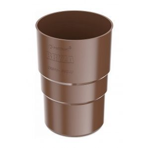 Муфта труби Bryza 125 90,2х145х84,5 мм коричневий