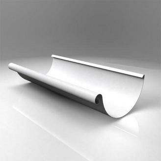 Желоб полукруглый JB Roofart Scandic Prelaq 125 мм 3 м белый RAL9010