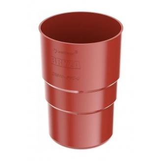 Муфта трубы Bryza 100 90,2х145х84,5 мм красный