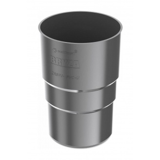 Муфта трубы Bryza 100 90,2х145х84,5 мм графит