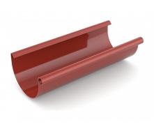 Желоб водосточный Bryza 125 мм 3 м красный
