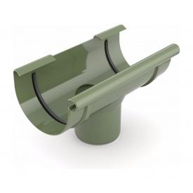 Лійка ринви зливна Bryza 75 160х63 мм зелений