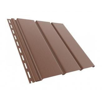 Софит сайдинг BRYZA гладкий 4000х305 мм коричневый