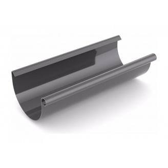Желоб водосточный Bryza 125 мм 3 м графит