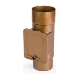 Люк для чистки Bryza 125 110,4х104,5 мм мідний