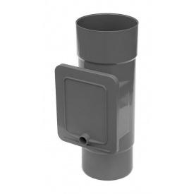 Люк для чистки Bryza 125 110,4х104,5 мм графит
