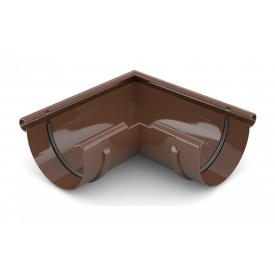 Кут зовнішній 90 градусів Bryza 100 коричневий