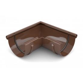 Кут зовнішній 90 градусів Bryza 125 коричневий