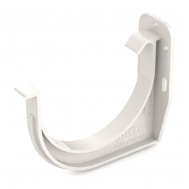 Тримач ринви ПВХ Bryza 75 85,3 мм білий