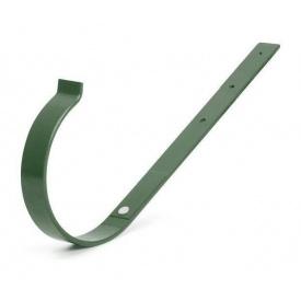 Тримач ринви прямий Bryza 125 190х130х4 мм зелений