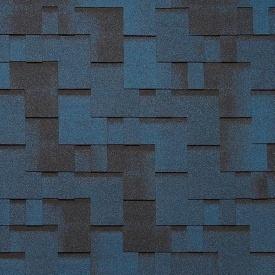 Битумная черепица Tegola Super Gothik 1000х337 мм синяя ночь