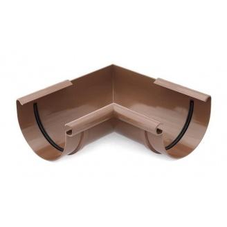 Кут внутрішній 90 градусів Bryza 100 коричневий
