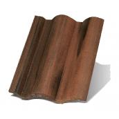 Цементно-піщана черепиця Terran Рустик ColorSystem коппо оддон