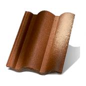 Цементно-песчаная черепица Terran Коппо ColorSystem феррара