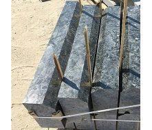 Бордюр дорожный Лабрадорит с фаской 100х30х15 мм