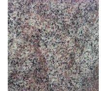 Плитка из Крутновского гранита полированная 600х600х10 мм фиолетово-розовая