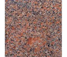 Плитка Withered из гранита полированного Новоданиловского 600х600х10 мм красная