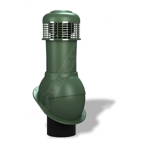 Вентиляционный выход Wirplast Normal К66 150x500 мм зеленый RAL 6020