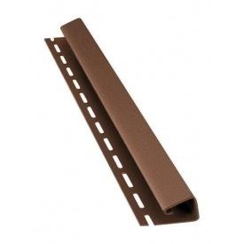 J-профиль Bryza 45 мм 4 м коричневый