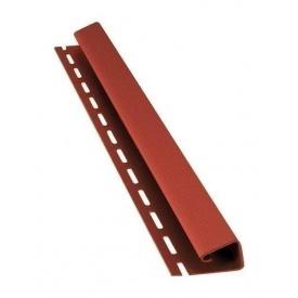 J-профиль Bryza 45 мм 4 м красный