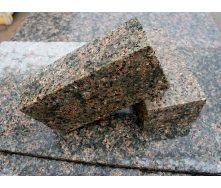 Тротуарная плитка из Васильевского гранита 20х10х3-5 см кремовая