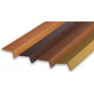 Угольник для террасной доски Polymerwood 60х30х2200 мм мербау
