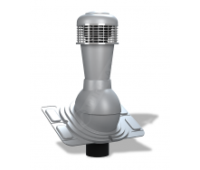 Вентиляционный выход Wirplast Uniwersal К44 110x500 мм серый RAL 7046
