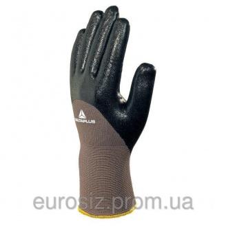Перчатки рабочие DELTA PLUS с нитриловым покрытием VE713