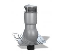 Вентиляционный выход Wirplast Uniwersal К26 110x500 мм серый RAL 7046