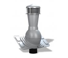 Вентиляционный выход Wirplast Uniwersal К25 110x500 мм серый RAL 7046