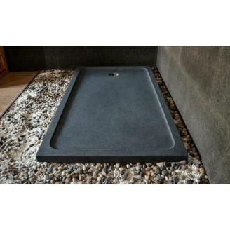 Душевой поддон Designo Stone Grey из природного гранита 80x120х8 см